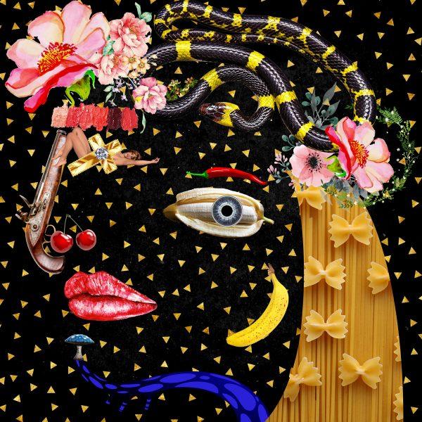 Art Collage Print