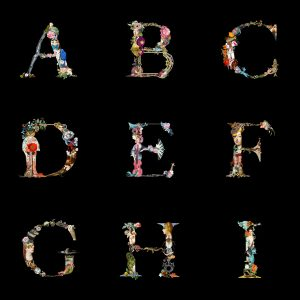 ALPHABET D – FIVE LIMITED PRINTS ONLY WITH SIGNATURE – ORIGINAL SIZE
